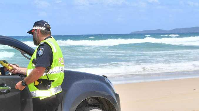 Cops crackdown on Noosa North Shore weekenders