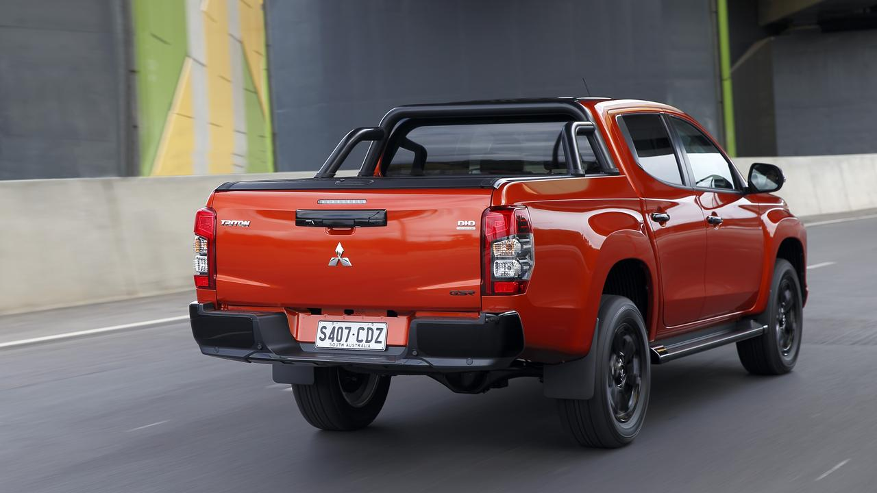 The 2020 model Mitsubishi Triton GSR currently comes with a seven-year 150,000km warranty as well as $1500 worth of accessories.
