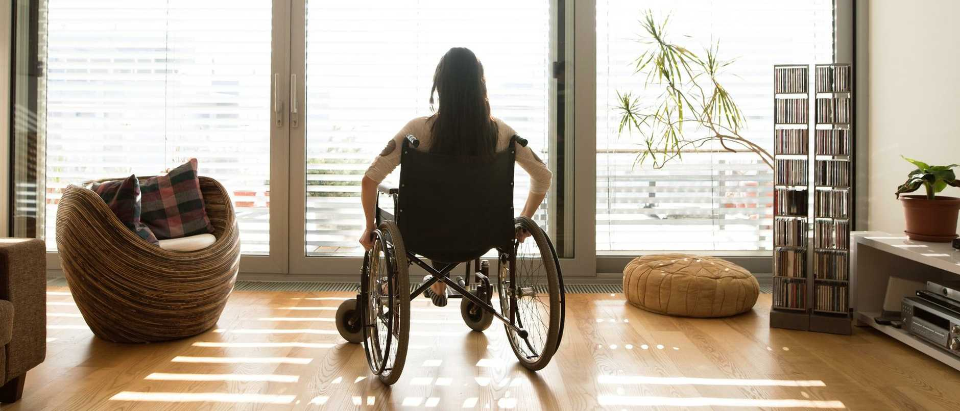A company that offered services to people with a disability has collapsed.