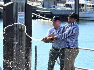 ALL ABOARD: Monster boat launched at Coffs Marina