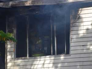 Fire guts home in Sarina