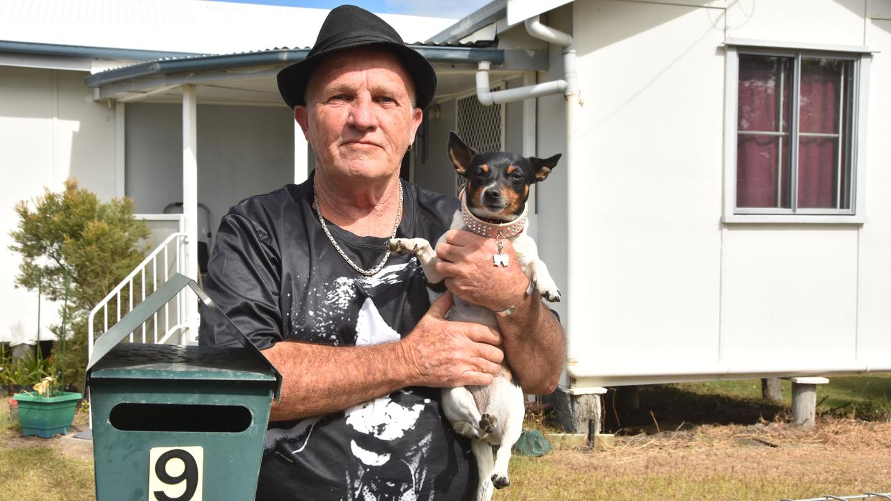 James Fischer said he was terrified of what could happen to his six-year-old miniature fox terrier Min if she was attacked by foxes.