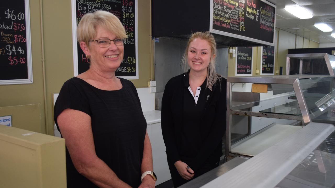 DELI DELICIOUS: Owners Helen Outhwaite and Alisha Barwick of soon-to-open MAD Providore in Maryborough. Photo: Stuart Fast