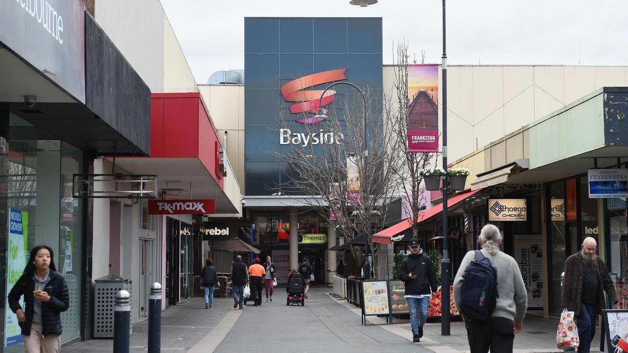 Frankston's Bayside Shopping Centre. Picture: Josie Hayden