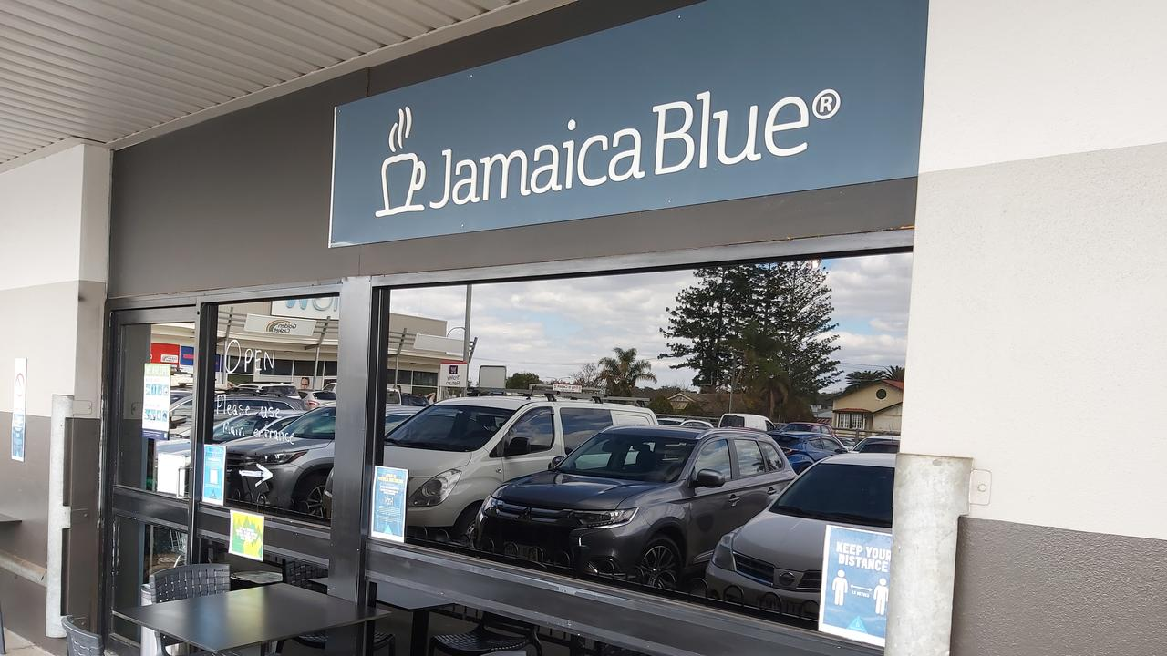 Police are appealing for public assistance following a double robbery at Jamaica Blue Cafe and Dollars and Sense. Photo: Holly Cormack.