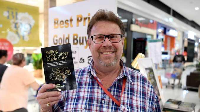 Antiques dealer uncovering hidden treasure in Rockhampton