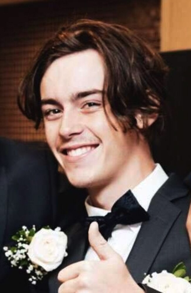 Cian English from Brisbane who fell from a balcony on the Gold Coast, five people, including two young girls have been charged with his murder. Picture Supplied