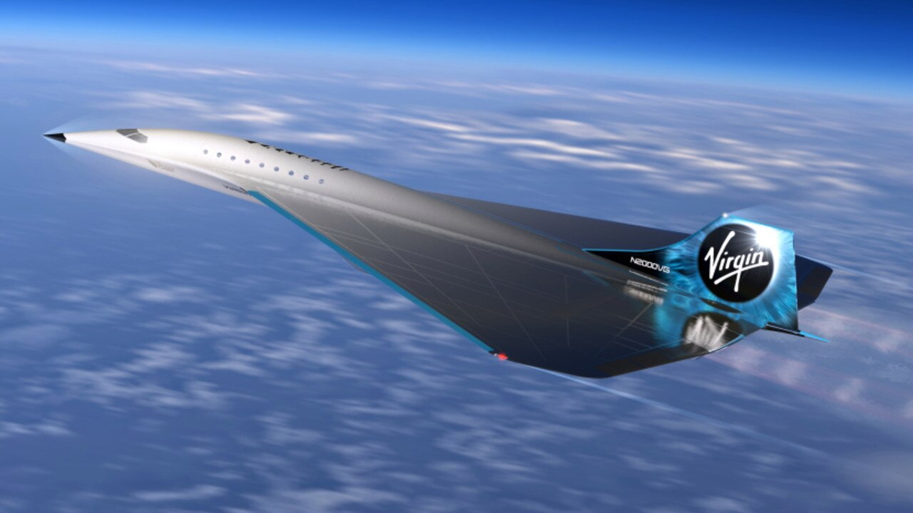 Once completed, the vehicle will travel at speeds of Mach 3 – three times the speed of sound.
