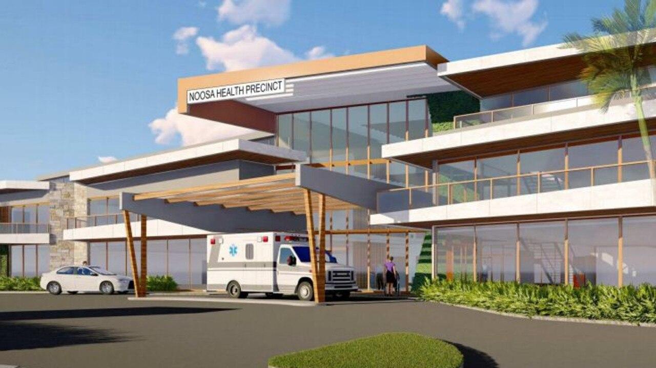 FIRST LOOK: Approved designs of Noosa Health Precinct on Hofmann Dve, Noosaville.