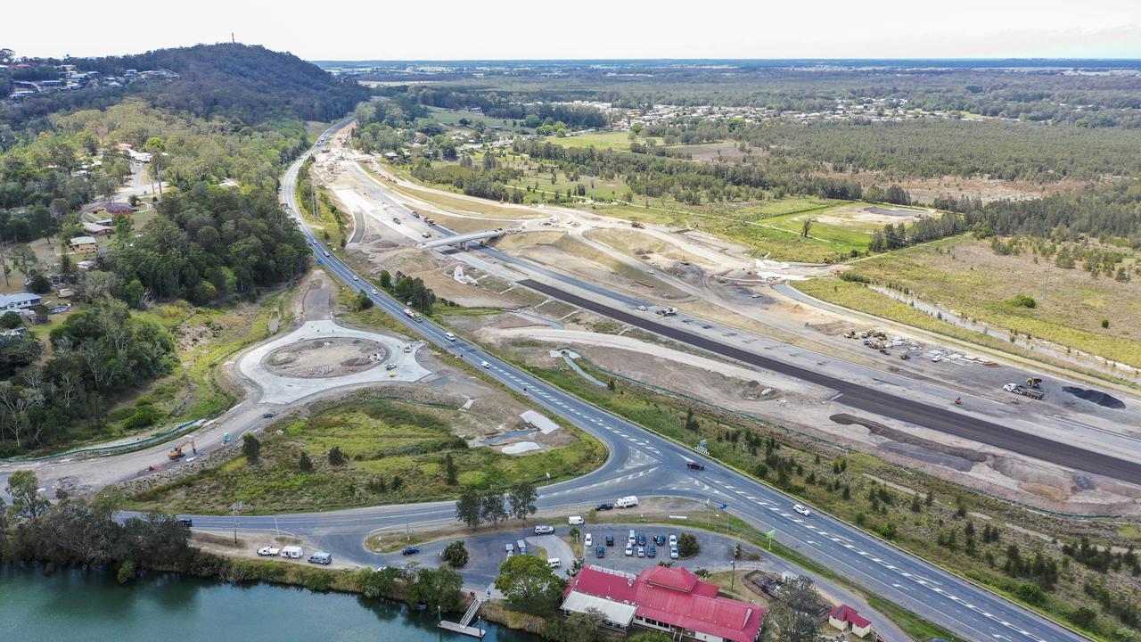 New Maclean Pacific Motorway interchange.