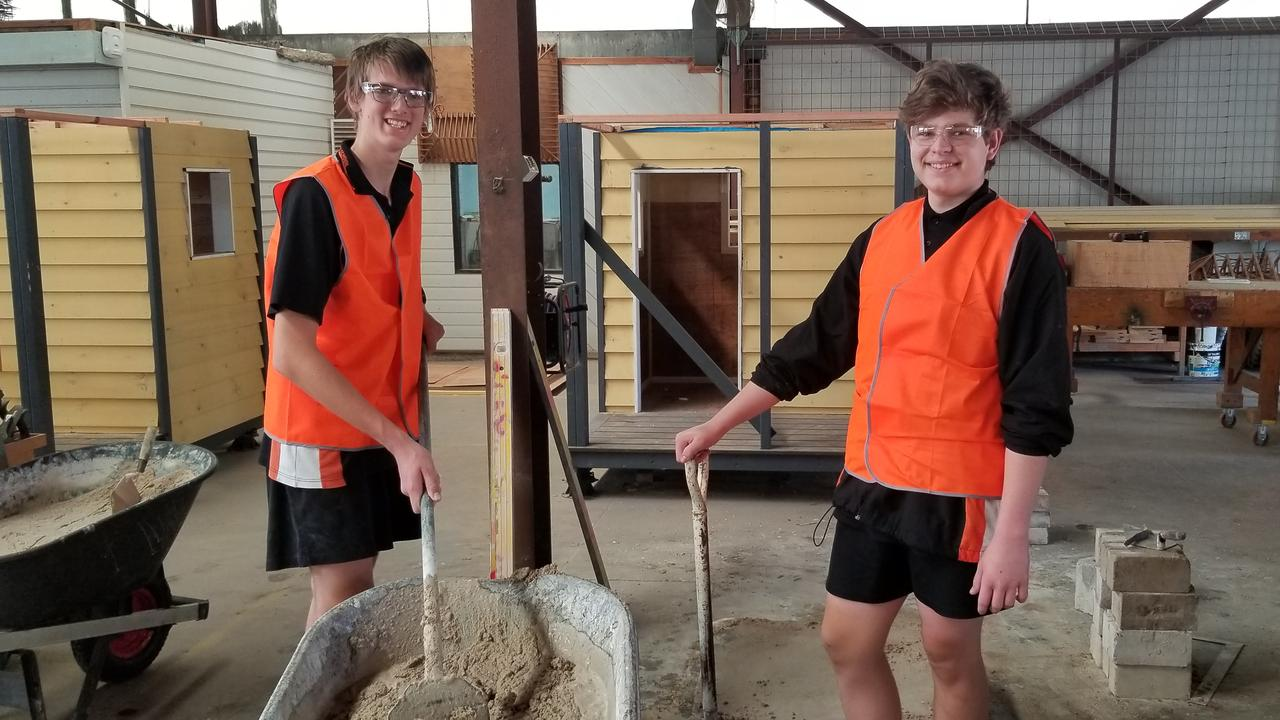 Patrick and Lachlan from Glenmore State School.