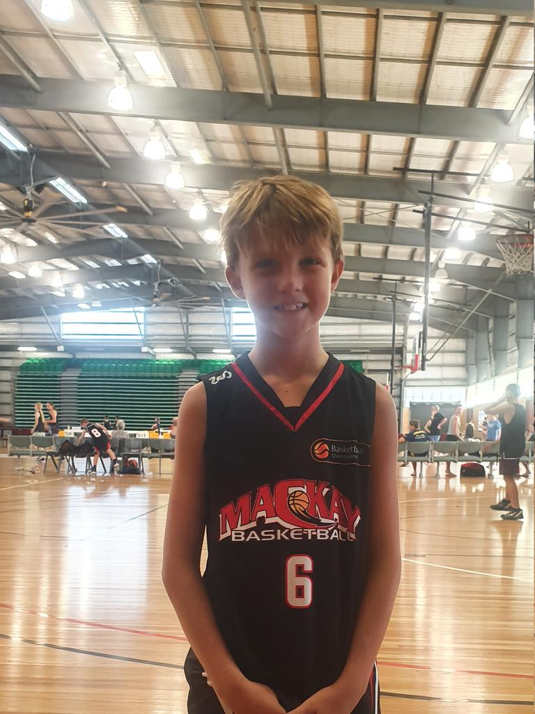 Fitzgerald State School student athlete, Lachlan Dore, 9.