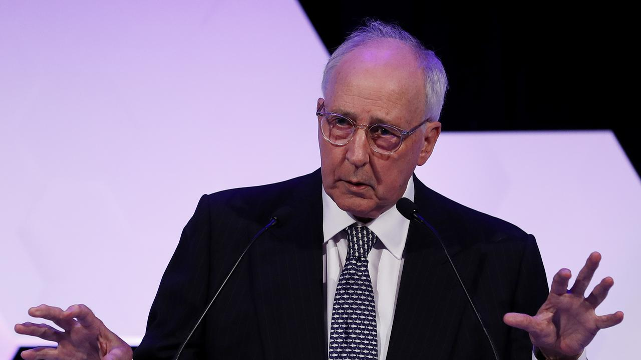 Former Prime Minister Paul Keating has lashed out at Baby Boomers, saying they'd never put up with low wages. Picture: Nikki Short