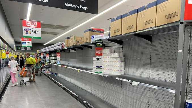 Concern panic buying is returning to Toowoomba shelves