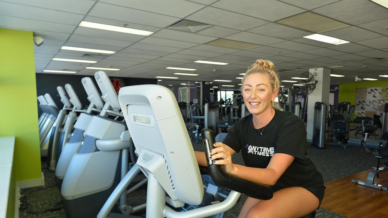 Larissa Petersen at Anytime Fitness.