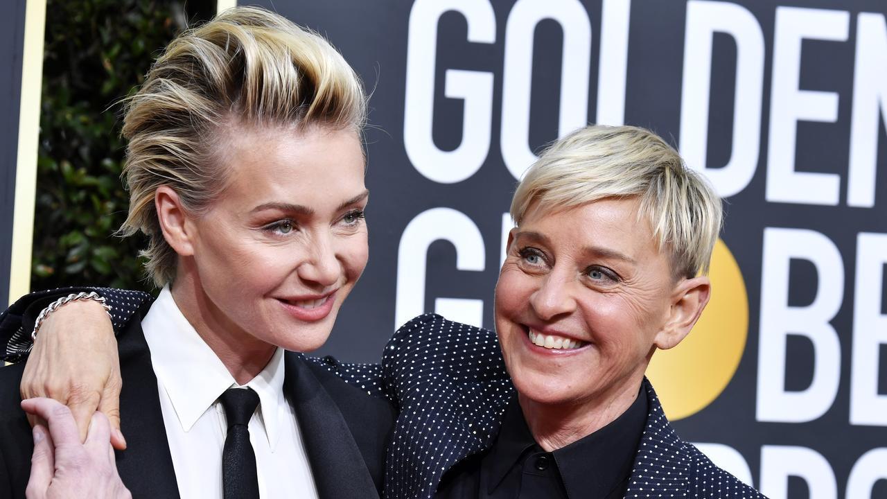 Portia and Ellen. Picture: Frazer Harrison/Getty