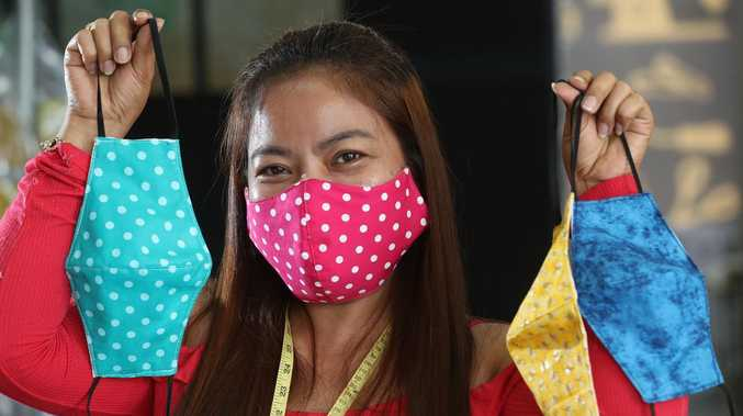 We've made 24,000 face masks in three weeks
