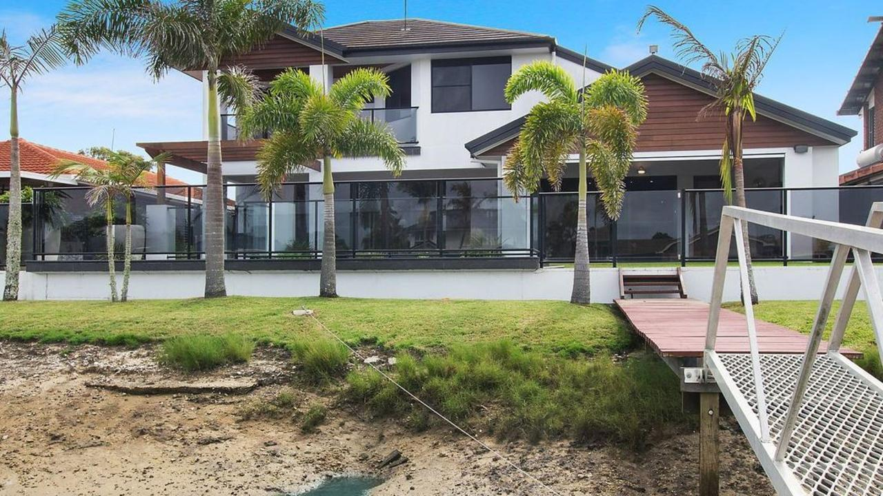 This West Ballina home has deep water access.