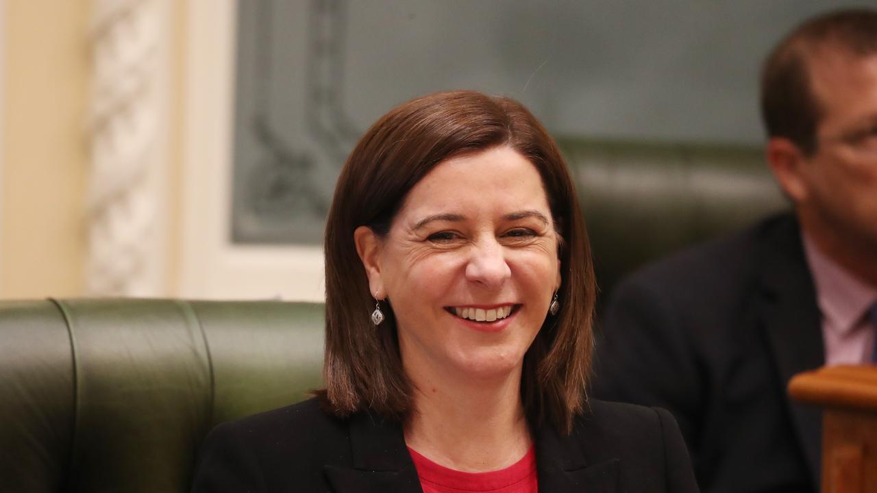 Opposition Leader Deb Frecklington at parliament. Pic Annette Dew