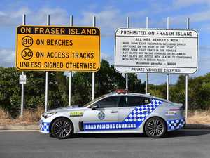 Fraser Island driving warning after two charged