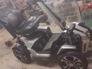 Help police find stolen mobility scooter