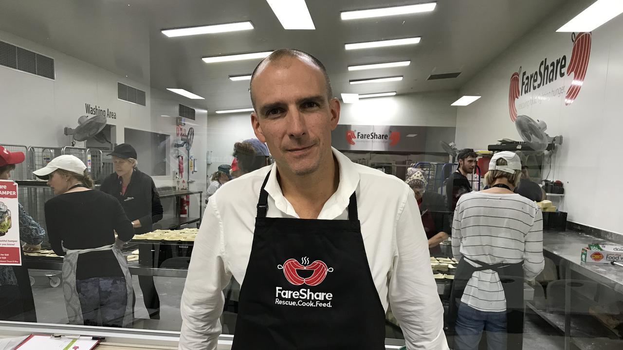 FareShare CEO Marcus Godinho.