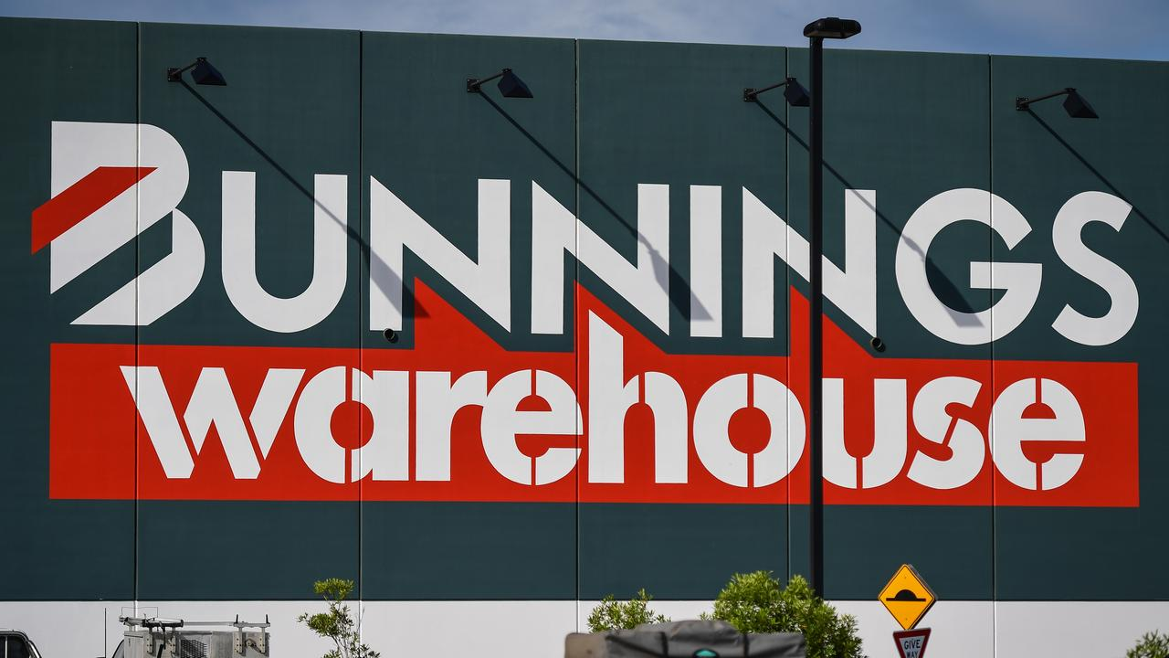 Bunnings says outdoor play sets have been in 'high demand' for months in Melbourne.