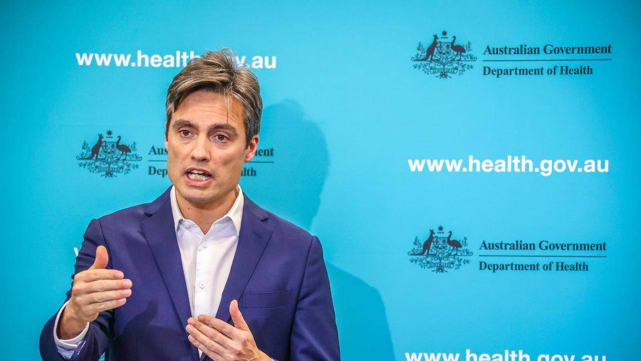 Nick Coatsworth, Australia's Deputy Chief Medical Officer, says Victoria has now started using the app again. Picture: David Gray/Getty Images