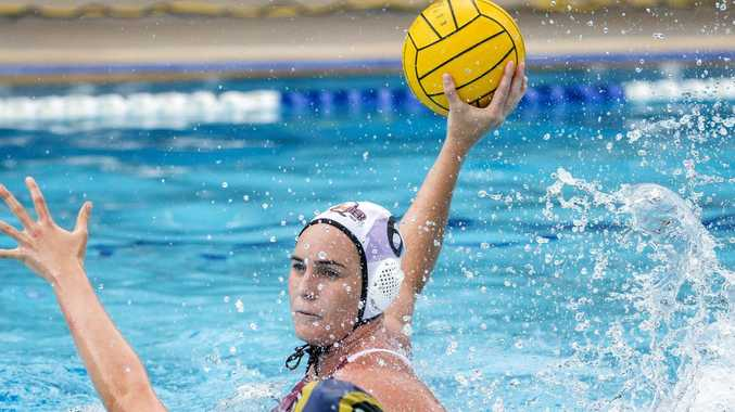 WATCH LIVE: Water Polo Qld- The Gungans v River City