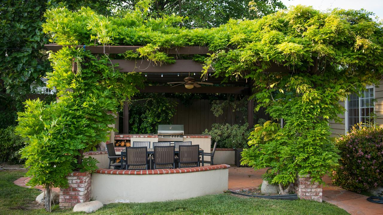 Make sure your outdoor design works with your home decor to create a sense of continuity and flow. Picture: Albone.