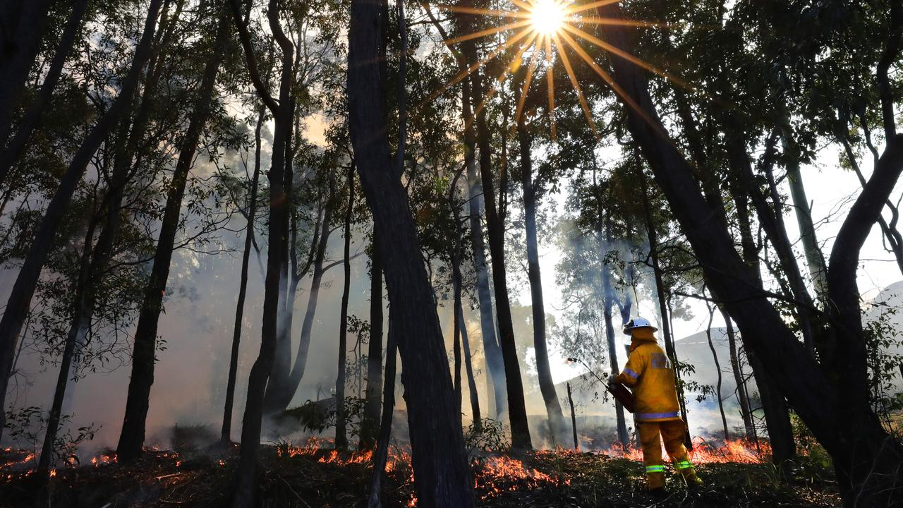 SAFETY BURN: Rural Fire Brigade members will perform a hazard reduction burn at Leyburn today.