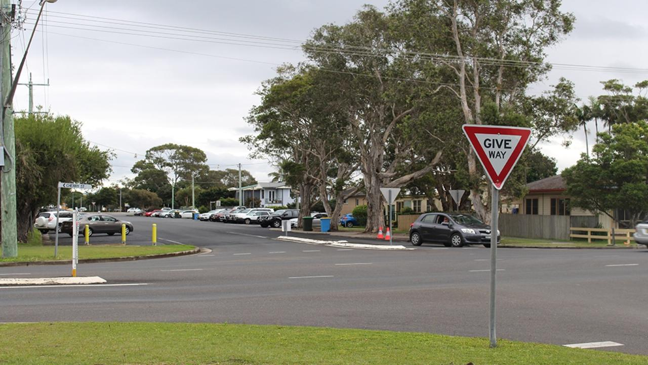 Ballina Shire Council is undertaking works at the intersection of Fox and Cherry Streets to improve motorist safety.