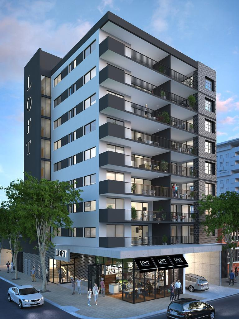 Rockhampton's new high rise, Loft On The Lane was marketed to open up inner city living to a whole new market.