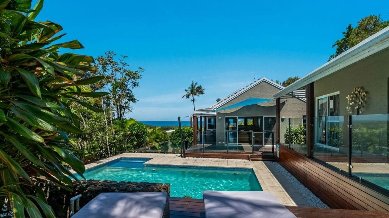 Views, views, views: This Lennox Head home has it all, and more.