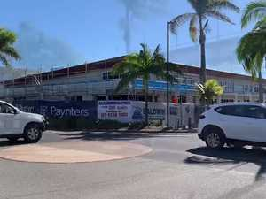 Bargara Beach Hotel taking shape