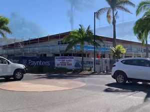 Bargara Beach Hotel taking shape