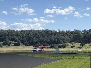 Plane crash at Lismore Airport