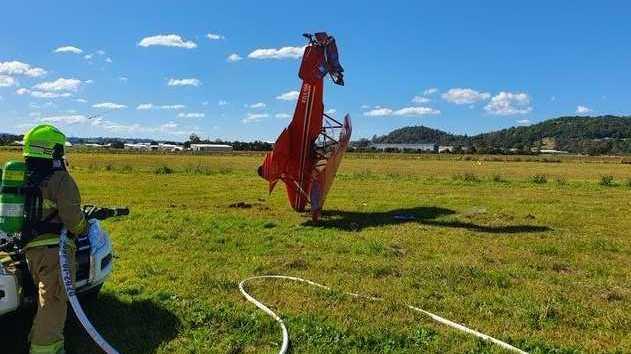VIDEO, PHOTOS: Pilot 'incredibly lucky' to escape crash