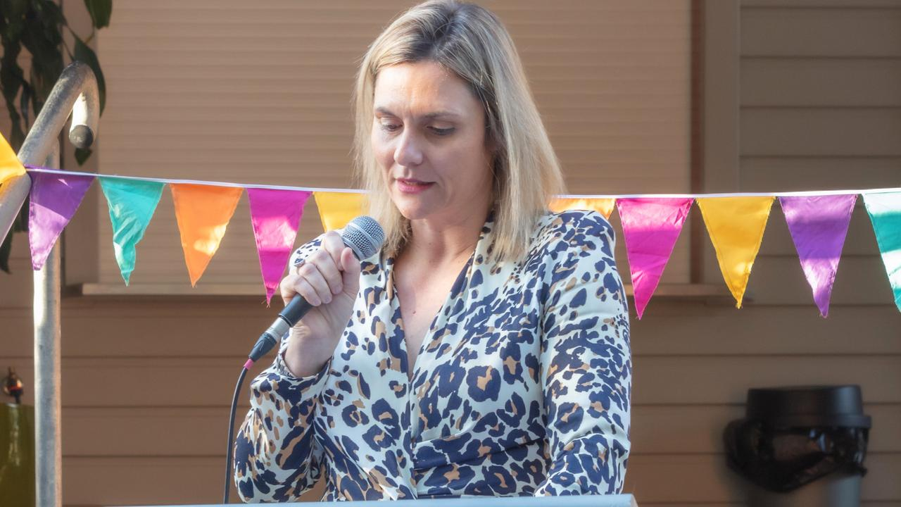 Mayor Noosa Shire Council Clare Stewart at the Youturn rebranding.