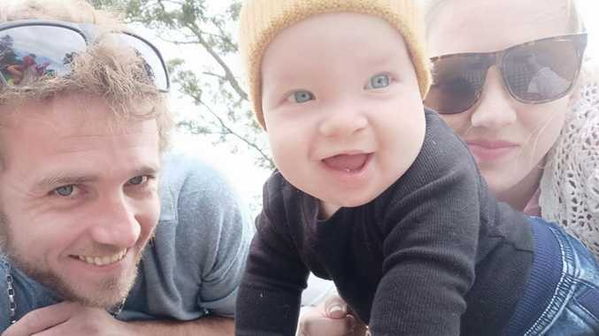 Heartbroken parents leave hospital without baby boy after op