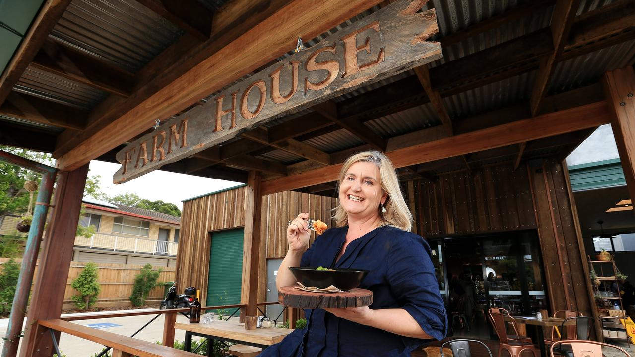 Amanda Scott at her the Farm House cafe in Kedron said checking customer identification would be too costly, intrusive and time consuming. Picture: Josh Woning.