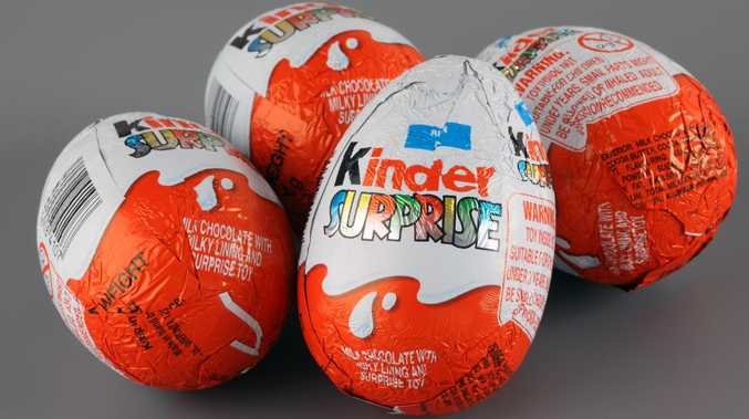 Kinder Surprise costs man $200