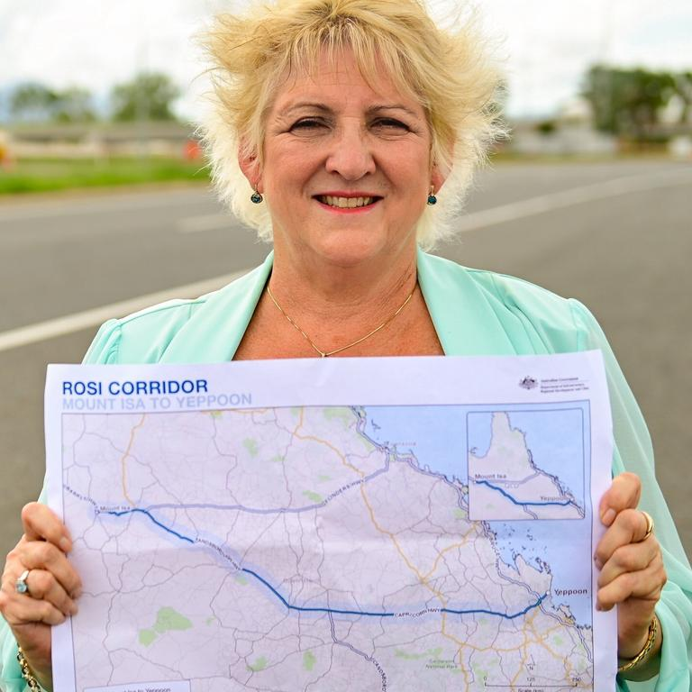 Michelle Landry has announced $64 million in federal funding for the Rockhampton-Yeppoon Road Duplication.