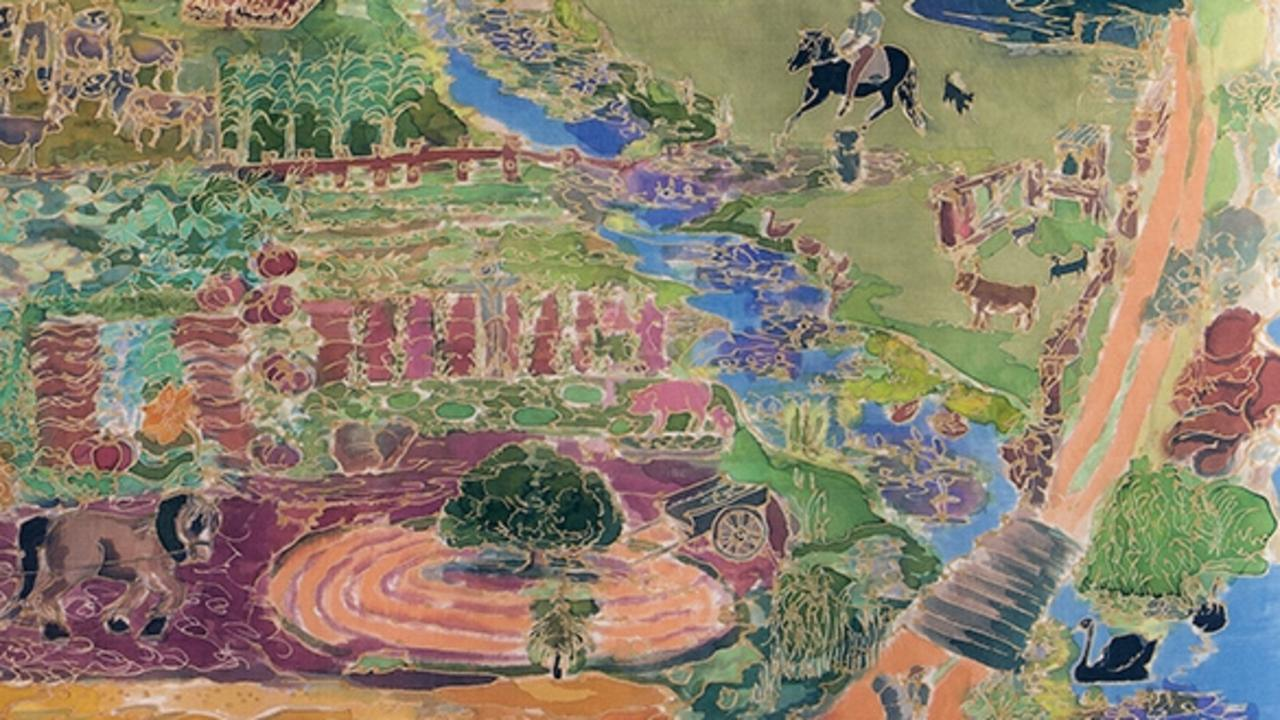 The Clarence River by Wendy Littlewood, 1989.