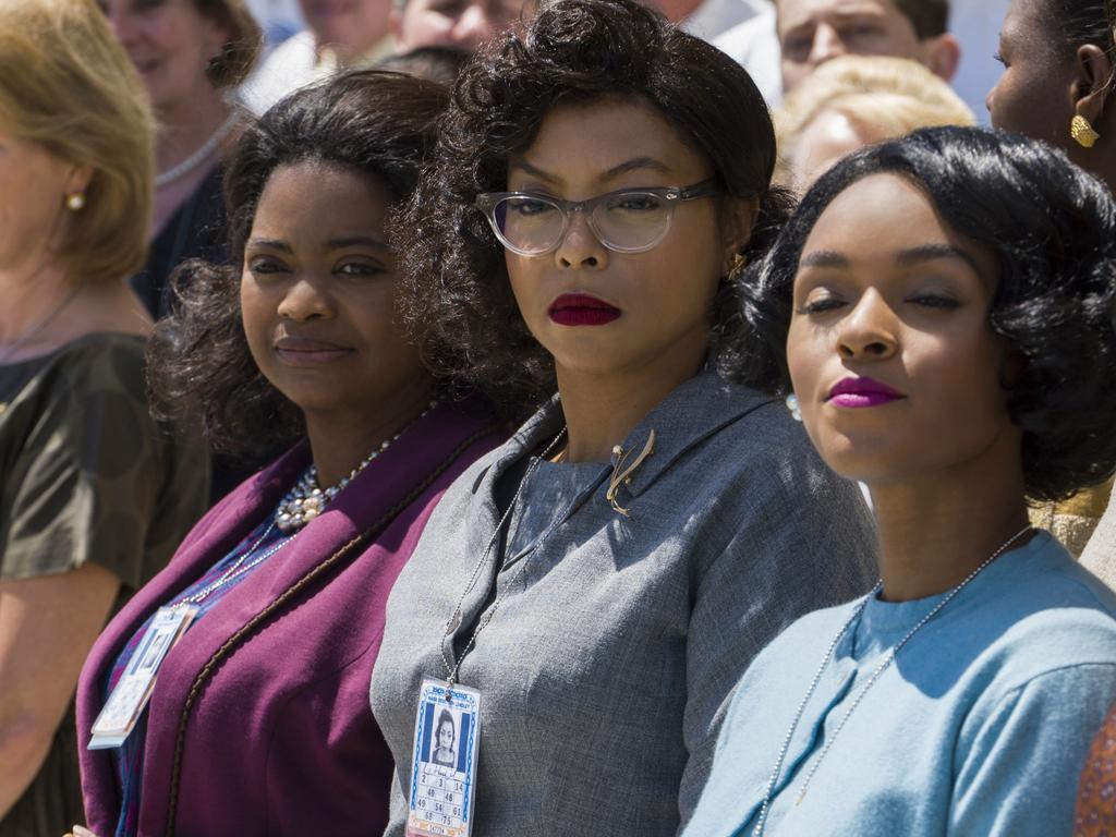 Octavia Spencer, Taraji P. Henson and Janelle Monae in Hidden Figures.