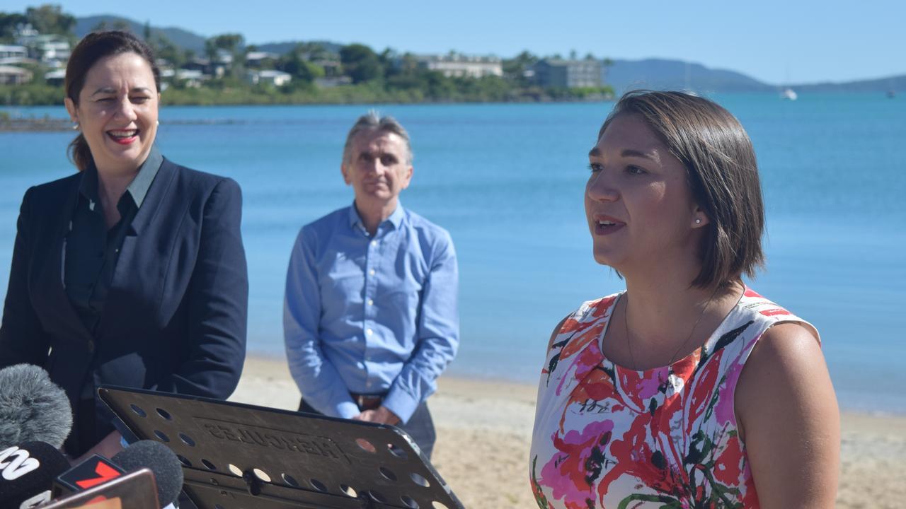Tourism Whitsunday chief executive Tash Wheeler met with Premier Annastacia Palaszczuk earlier this year.