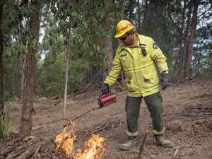 Hazard reduction burn taking place today