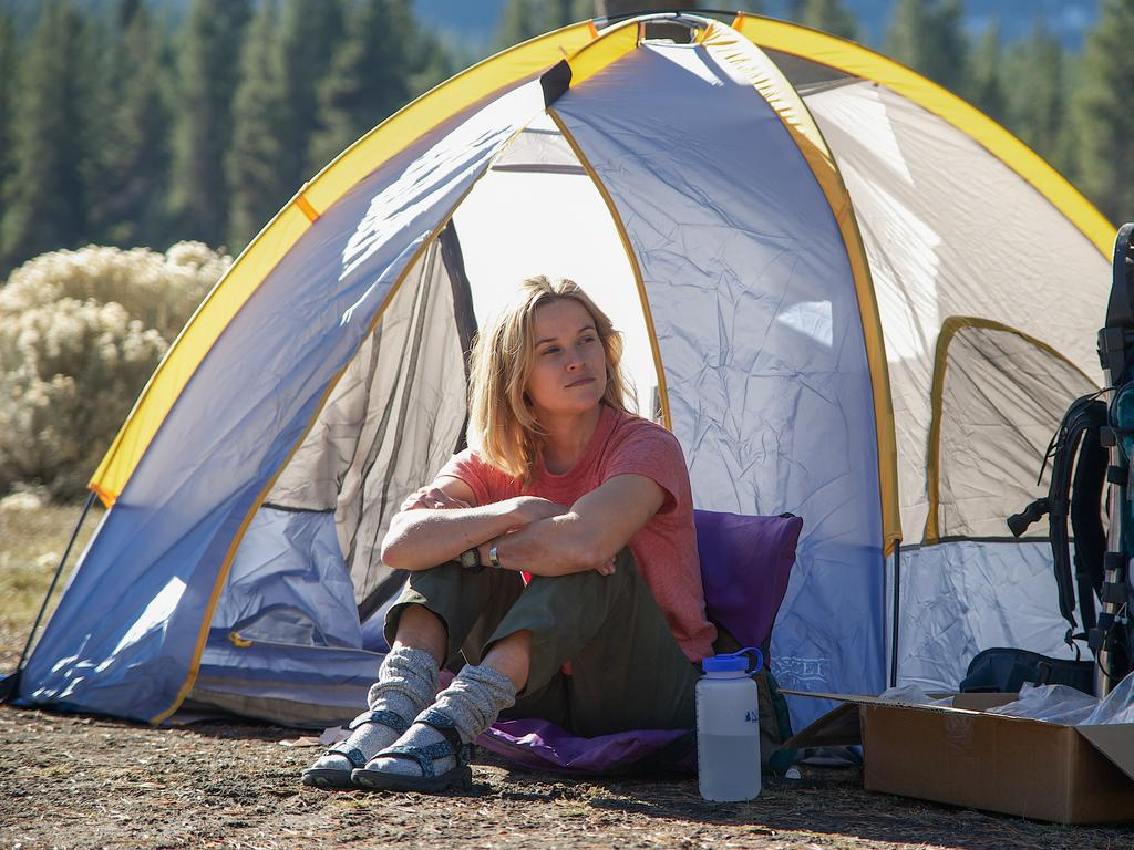 Reese Witherspoon in a scene from the film Wild.