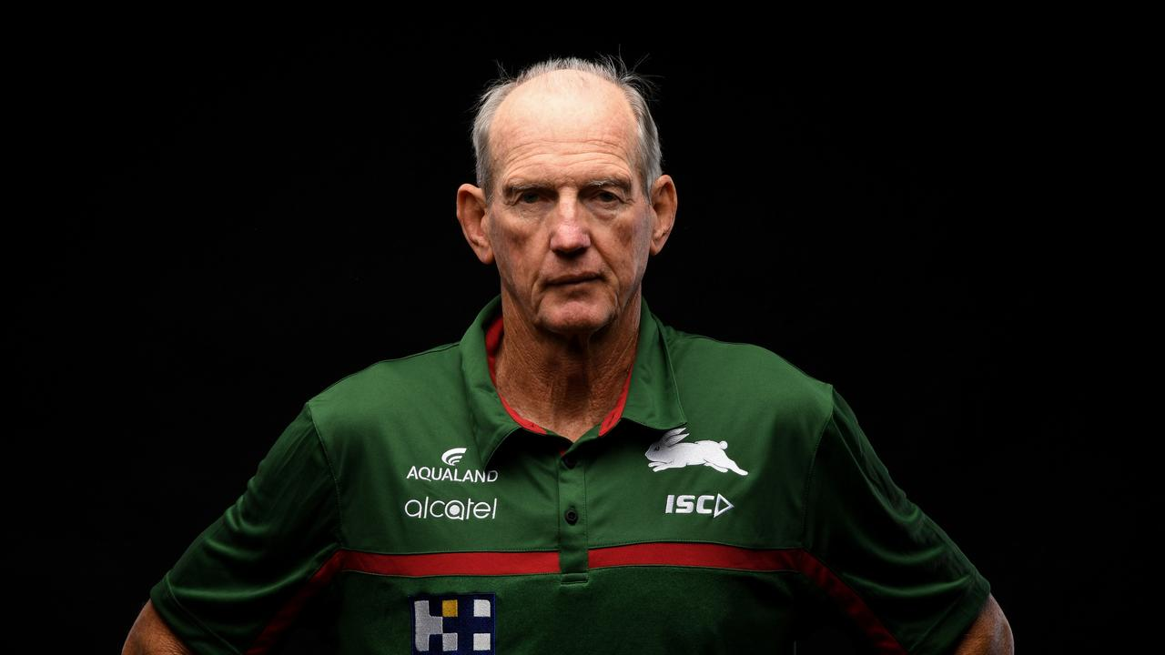 Wayne Bennett has told his side over the coaching saga story. Picture: Grant Trouville/NRL Photos