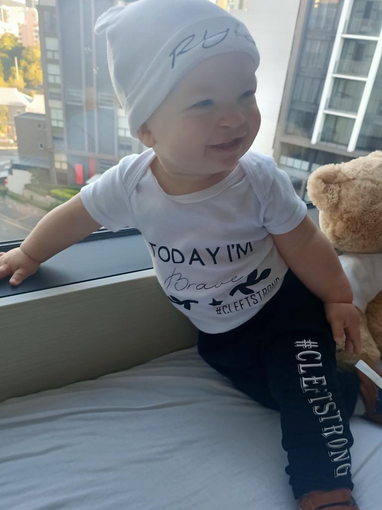 SUDDEN: Rylen, 10 months, died following an operation.